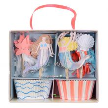 Meri Meri Cupcake-Set Let´s be Mermaids