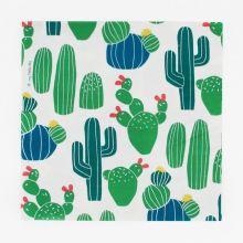 Serviette Kaktus Kakteen