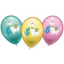Luftballon Lama
