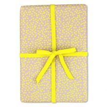 ava&yves Geschenkpapier Punkte gelb
