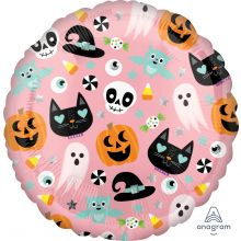Folienballons Halloween Icons