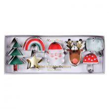 Plätzchen-Ausstecher Weihnachten von Meri Meri  - Sieben verschiedene Motive