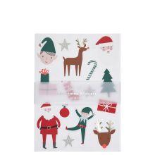 Meri Meri Aufkleber Weihnachtsmotive Chirstmas Icons