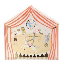 Meri Meri Partyteller Zirkus-Zelt