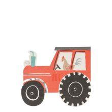 Meri Meri Serviette Traktor