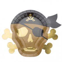 Partyteller Totenkopf Pirat