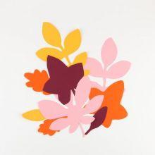 Dekoblätter Herbst