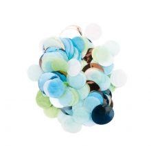 Konfetti Blau Grün Mix