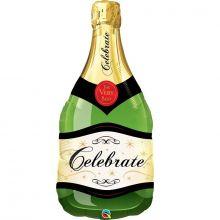 Ballon Flasche Celebrate