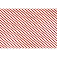 Geschenkpapier Weihnachten rot-weiß gestreift