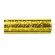 Papierschlangen gold irisierend