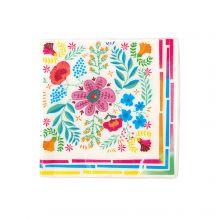 Serviette Boho-Floral