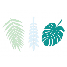 Deko-Blätter grün Delight Department