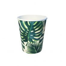 Pappbecher Palmblatt Tropical Fiesta von Talking Tables