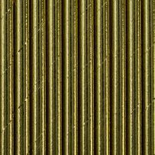 Papier-Strohhalme gold-glänzend