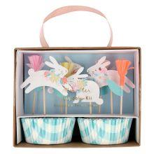 Meri Meri Cupcake Set Ostern Spring Bunny