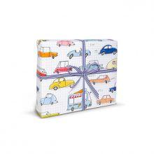 Krima&Isa Geschenkpapier Fahrzeuge und Autos