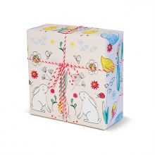 Krima&Isa Geschenkpapier Osterliebelei rosa