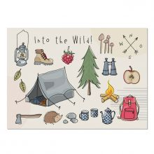 Krima&Isa Postkarte Into the Wild