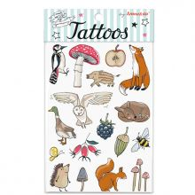Tattoos Waldtiere