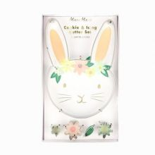 Meri Meri Keksausstecher Hase Floral Bunny