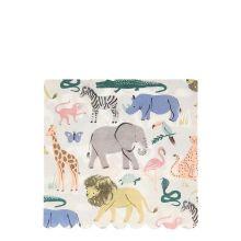 Meri Meri Serviette Safari-Tiere