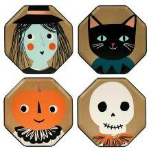 Meri Meri Partyteller Halloween Vintage Icons