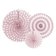 """Rosetten _Pinwheel rosa """"Pastellove"""""""
