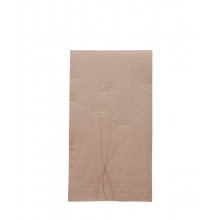 Delight Department Serviette blush mit Blumenmotiv