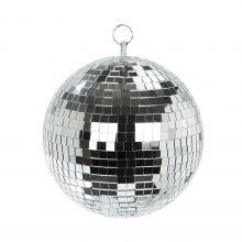Disco-Kugel Silber freigestellt