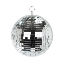Disco-Kugel silber