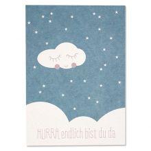 Postkarte Hurra Format: DIN A6 Gedruckt auf hochwertiger Holzschliffpappe Hergestellt in: Deutschland