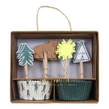 Meri meri Cupcake-Set Let`s explore