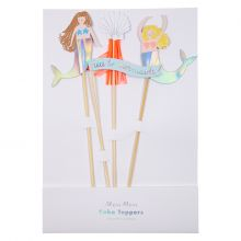 Caketopper  Let's Be Mermaids