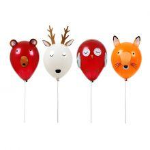 Ballonset Waldtiere