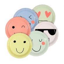 Pappteller Emoji