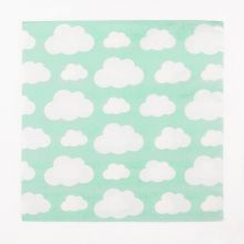Serviette Wolken