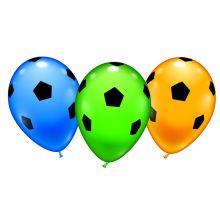 Luftballon-Set Fußball