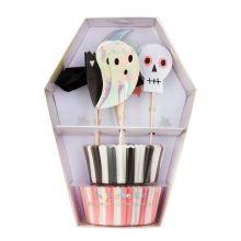 Meri Meri Cupcake-Set Halloween-Icons