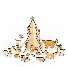 Adventskalender Waldtiere