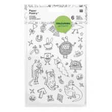 Sticker Colouring Activity