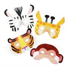 Tiermasken Dschungeltiere