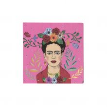 Serviette Frida Kahlo Portrait