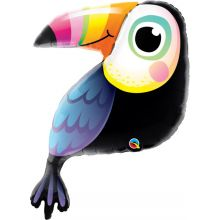 Folienballon Colourful Tucan