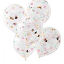 Ginger Ray Konfetti Ballons Ditsy Floral