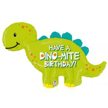 Folienballon Dino Dino-Mite Birthday