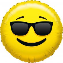 Folienballon Emoji Sonnenbrille