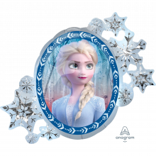 Folienballon Elsa Vorderseite Frozen II