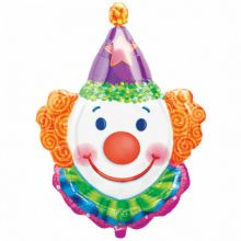 Folienballon Clown