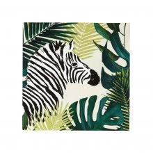 Talking Tables Serviette Zebra